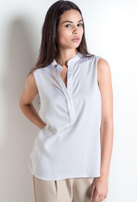 Camisa Regata Sydney Branca