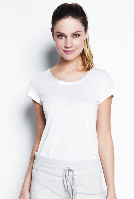 T-Shirt Básica Málaga Off White