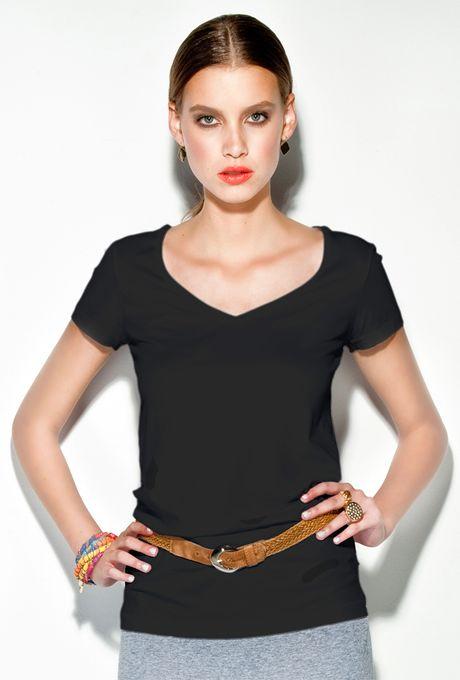 T-Shirt-Verona-preta