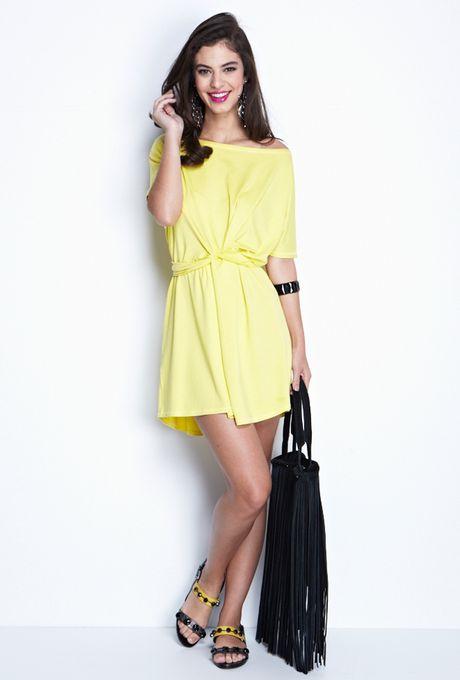 Vestido-Luxemburgo-curto-amarelo