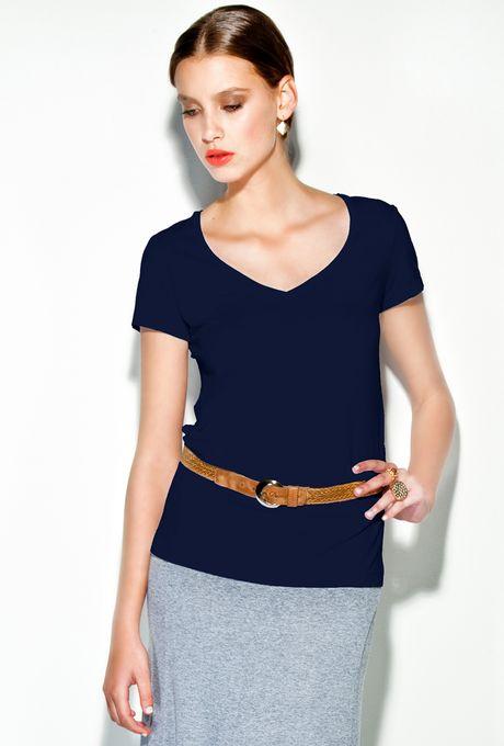 T-Shirt-Verona-marinho