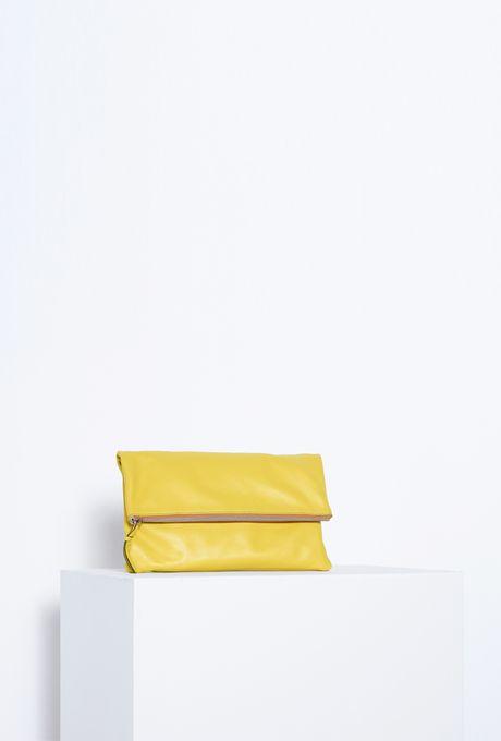 Bolsa-carteira-amarela