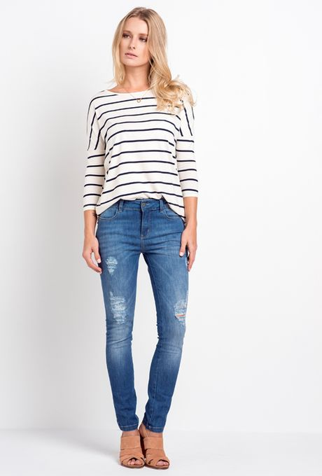 Calça Jeans Skinny Mendoza
