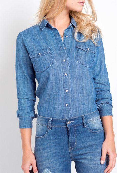 Camisa Jeans Évora