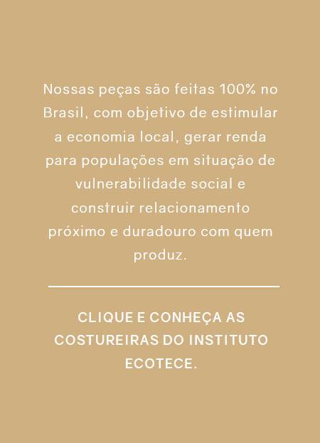 Nossas peças são feitas 100% no Brasil