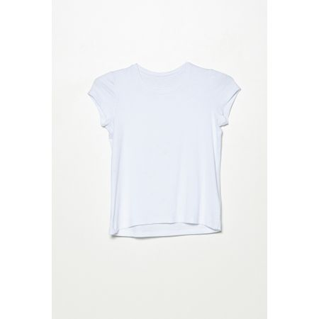 T-shirt New York Mini Branca