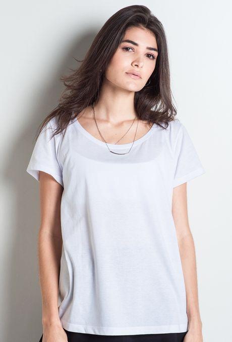 T-Shirt Básica Cairo Branca