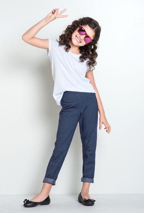Calça Cartagena Mini Blue Jeans