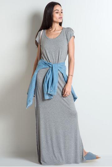 Vestido-Reggio-Cinza