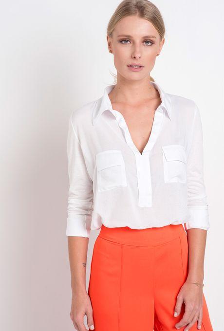 Camisa Bonaire Branca