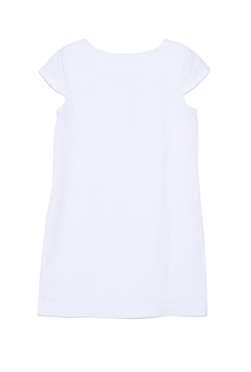 e745637fd Vestido Branco Básico Nassau - Mobile