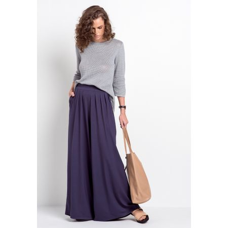 Calça Pantalona Atenas Marinho