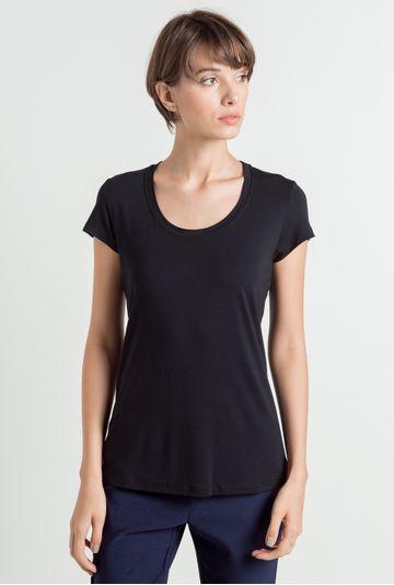 T-Shirt-New-York-preta