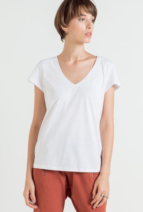 T-Shirt Básica Lima Branca