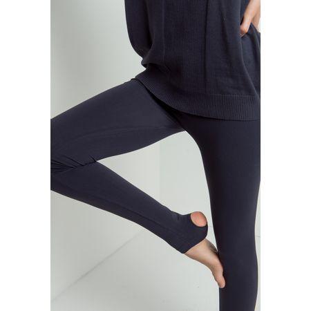 Legging Gênova Pézinho Preta