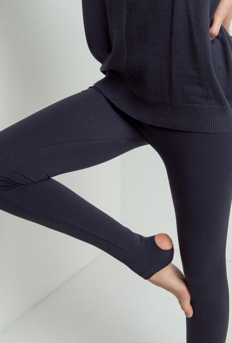Legging Gênova Pézinho Preta U