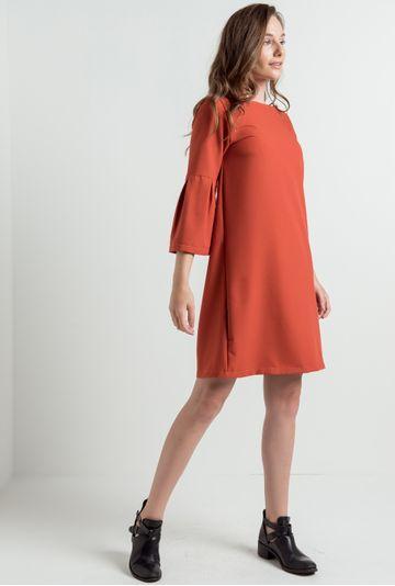 Vestido-manga-sino-Rimini-terracota