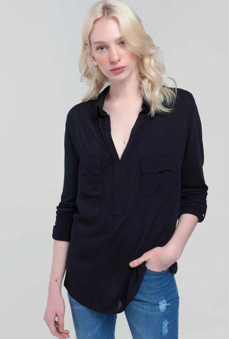 Camisa Bonaire Preta