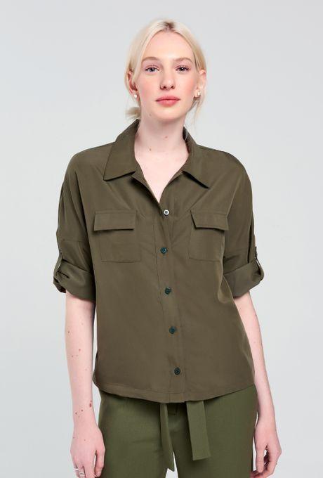 Camisa Taormina Verde