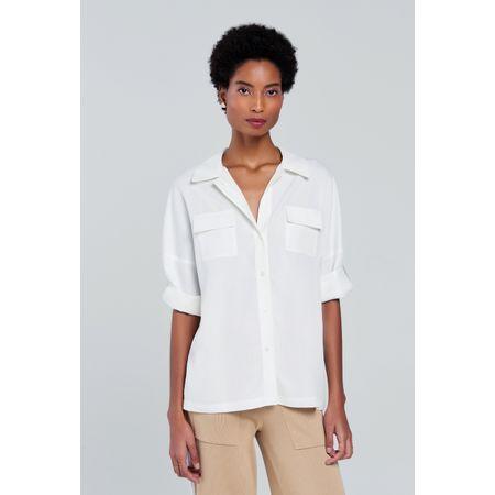 Camisa Taormina Off White