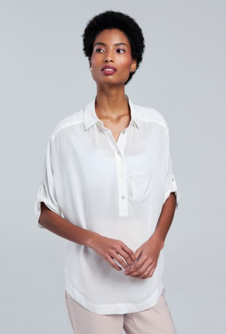 Camisa Segóvia Off White