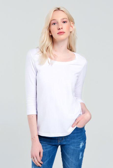 Tshirt Pima Vigo Branca