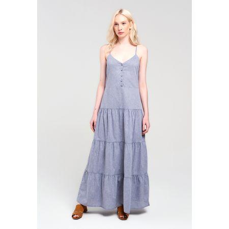 Vestido Vedras Cinza