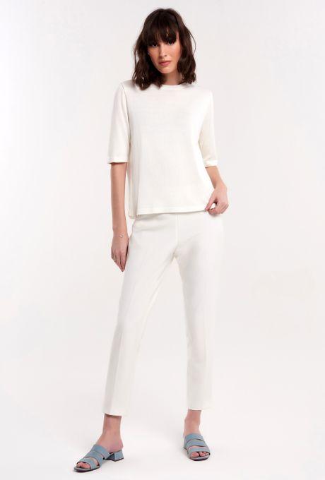 Blusa Tricot Armona Off White