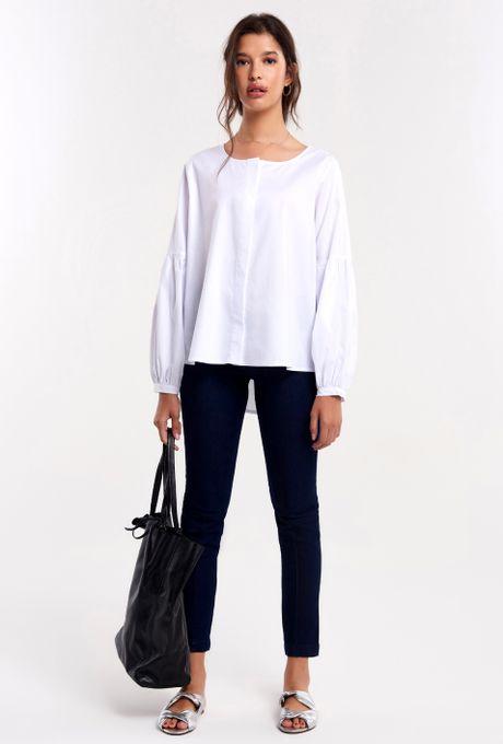 Camisa-Tricoline-Bufante-Branca