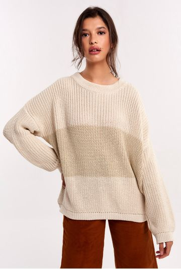 Tricot-Narbone-Bicolor-Areia