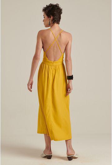 Vestido-linho-decote-amarelo-2