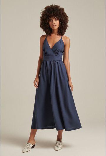 Vestido-Linho-Decote-Azul-1