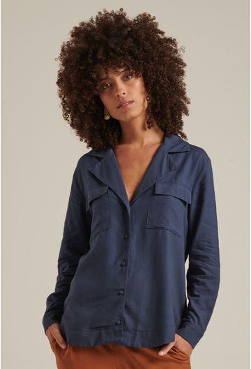Camisa-Linho-Marinho