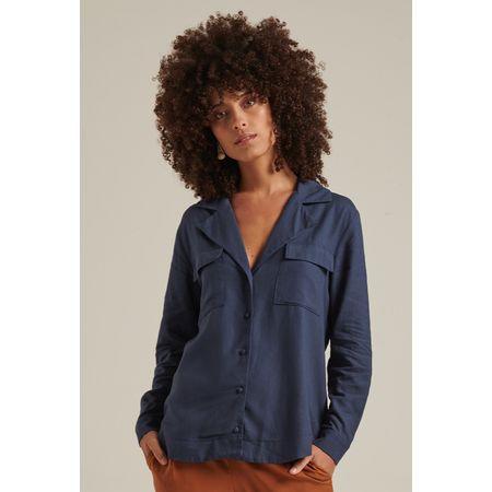 Camisa Pissouri Azul Marinho