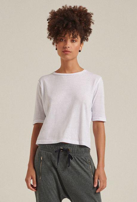 Blusa Cropped Protaras Branca