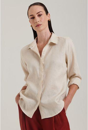Camisa-Linho-Areia