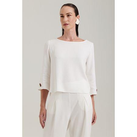 Blusa Veles Off White