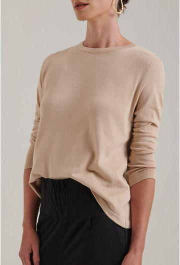 Blusa-em-tricot-com-manga-longa-lausanne-estilo-sueter-bege-frente