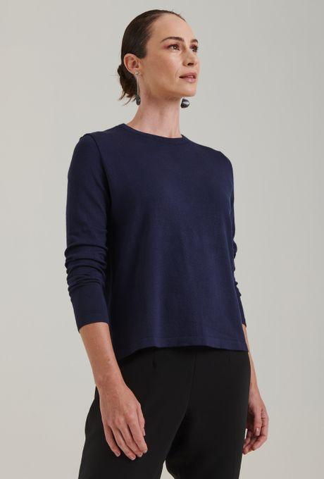 Blusa-em-tricot-com-manga-longa-lausanne-estilo-sueter-azul-marinho-frente