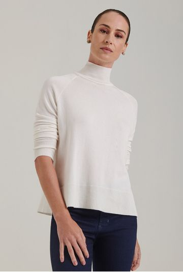 Blusa-em-Tricot-Matera-Gola-Alta-Off-White-Frente