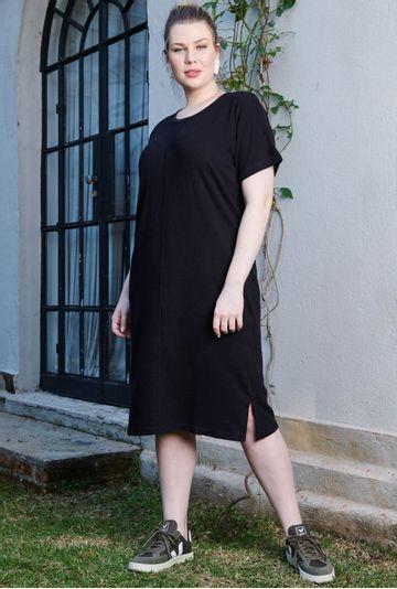 Lookbook-vestido-midi-Portofino-confeccionado-em-algodao-certificado-preto---mybasic