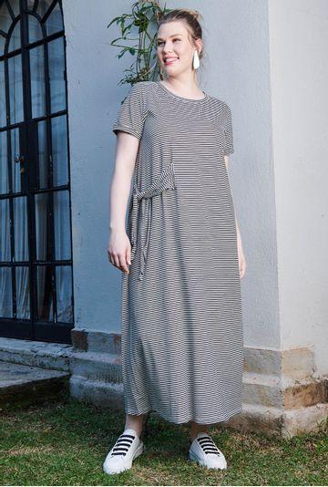 Lookbook-vestido-midi-listrado-Bilbao-confeccionado-em-algodao-certificado-colecao--mybasic-detalhe