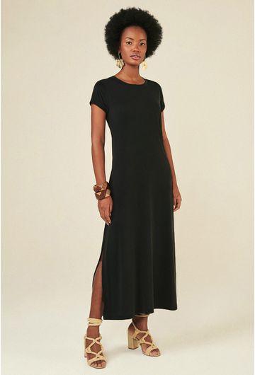 Vestido-Midi-Toulon-em-Modal-com-Fenda-Lateral-preto-principal