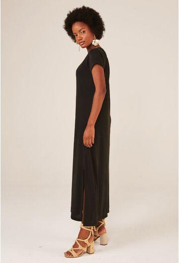 Vestido-Midi-Toulon-em-Modal-com-Fenda-Lateral-preto-detalhe