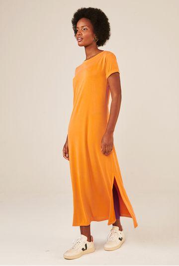 Vestido-Midi-Toulon-em-Modal-com-Fenda-Lateral-Acafrao-detalhe