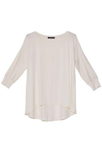 Blusa-Limoges-em-tecido-premium-com-meia-manga-e-modelagem-alongada-off-still