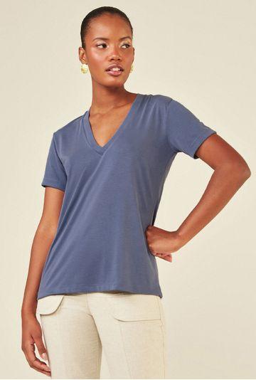 Blusa-Decote-V-em-Modal-Zalipie-Azul-principal