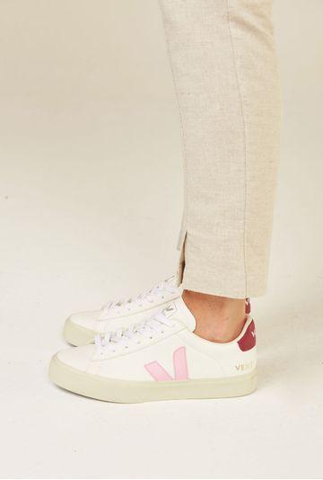 Tenis-Campo-Chromefree-Extra-White-Guimauve-Marsala-Vert-Shoes-principal