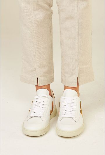 Tenis-V12-Leather-Extra-White-Camel-Vert-Shoes-detalhe