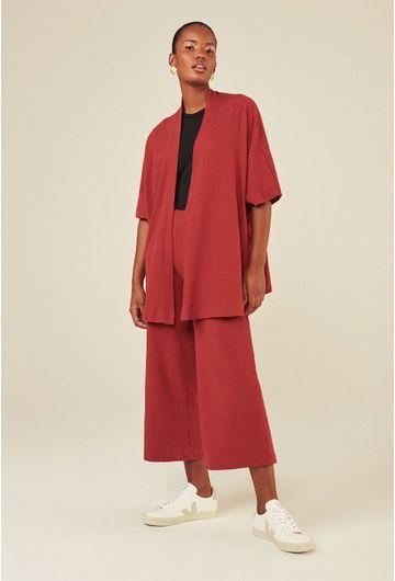Kimono-Medio-Algodao-Certificado-Alicante-Terracota-detalhe